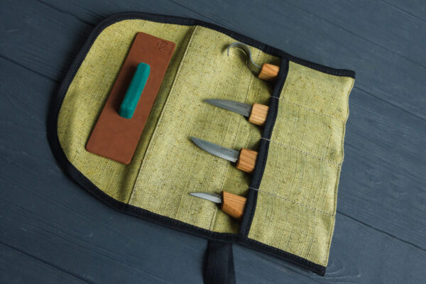 S48 – Wood Carving Tool Set for Spoon Carving