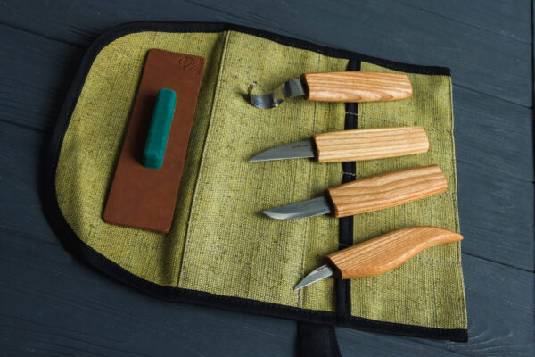 S48L – Wood Carving Tool Set for Spoon Carving (Left-handed) - 4