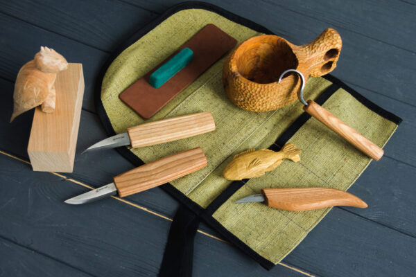 S48 – Wood Carving Tool Set for Spoon Carving - 2