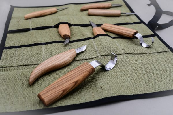 S08 – Wood Carving Set of 8 Knives - 3