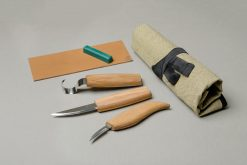 S13L – Wood Carving Tool Set for Spoon Carving (Left handed) - thumbnail