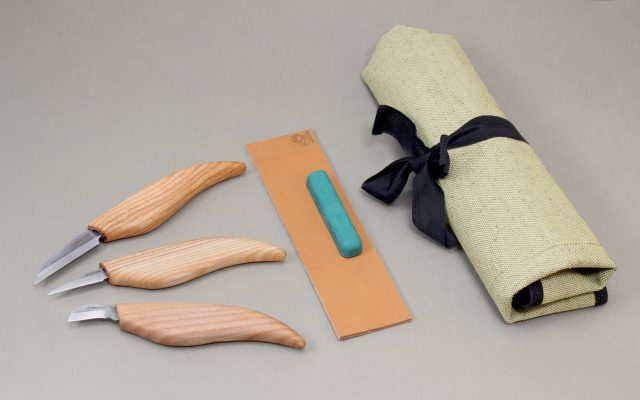 S15 – Starter Chip and Whittle Knife Set with Accessories