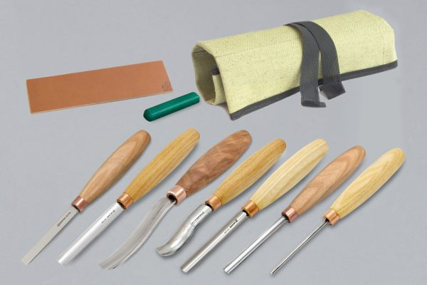 SC03 – Wood Carving Set of 7 Chisels