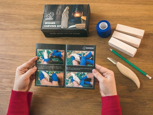 DIY03 – Wizard Carving Kit – Complete Starter Whittling Kit for Beginners Adults Teens and Kids - 4