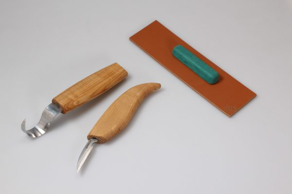 S02 – Spoon Carving Set with Small Knife