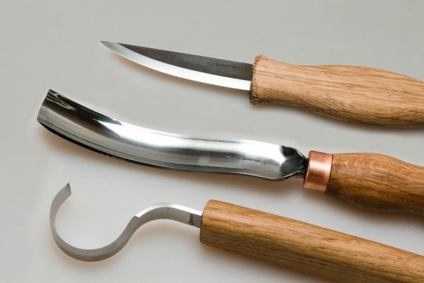 S14L – Spoon Carving Set with Gouge (Left handed) - 3