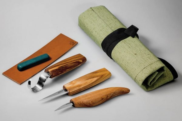 S17L – Extended Spoon and Whittle Knife Set (Left handed)