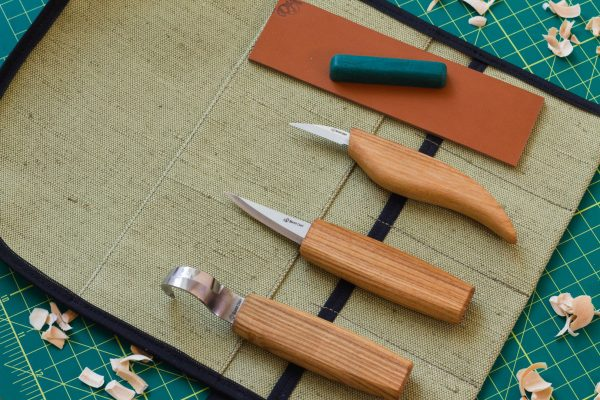 S17L – Extended Spoon and Whittle Knife Set (Left handed) - 4