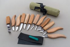 S10L – Wood Carving Set of 12 Knives (Left handed) - thumbnail