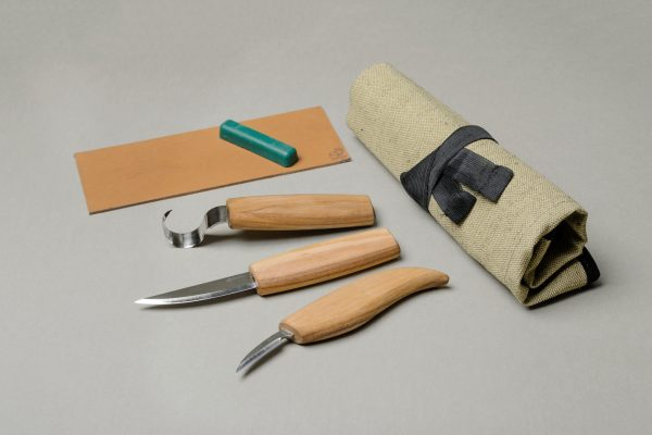 S13L – Wood Carving Tool Set for Spoon Carving (Left handed)