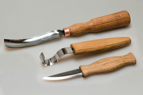 S14L – Spoon Carving Set with Gouge (Left handed)