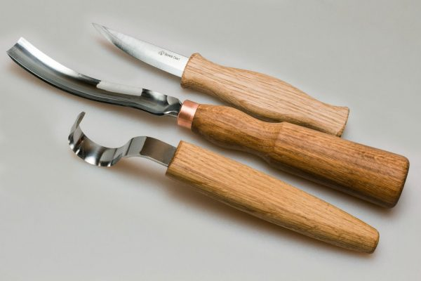 S14L – Spoon Carving Set with Gouge (Left handed) - 2