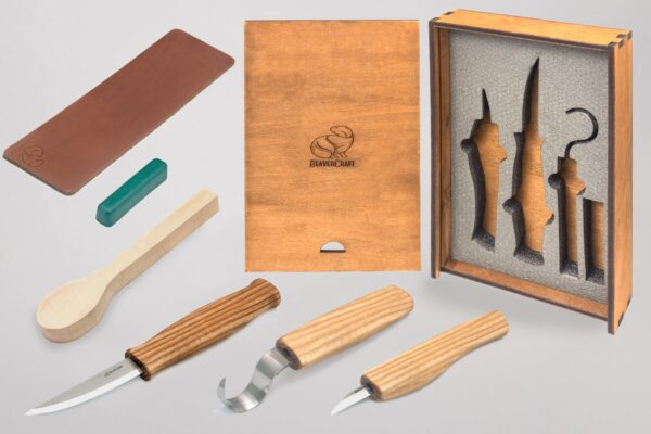 S13BOX – Spoon Carving Set In a Box
