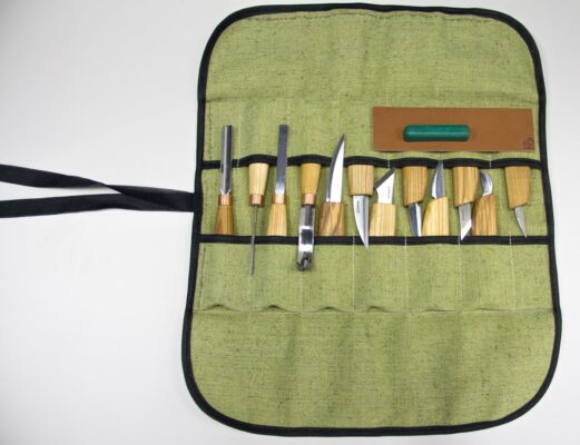 S50 – Woodcarving Set of 12 Knives - 2