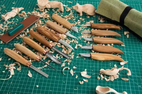 S50 – Woodcarving Set of 12 Knives - 7