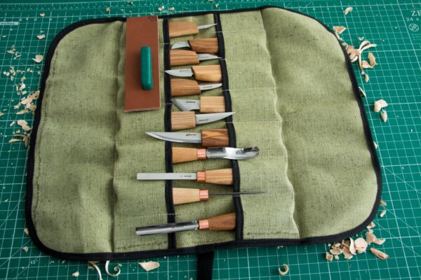 S50 – Woodcarving Set of 12 Knives - 6