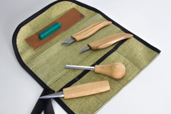 S51 – Woodcarving Set of 4 Knives