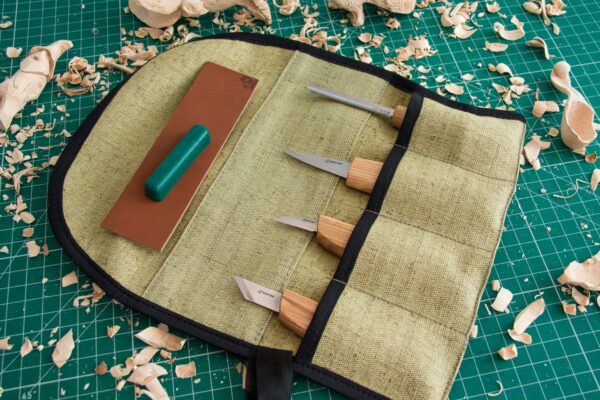 S51 – Woodcarving Set of 4 Knives - 6