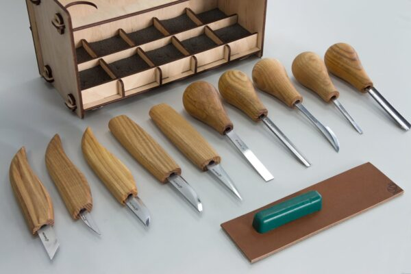 S52 – Woodcarving Set of 10 Knives