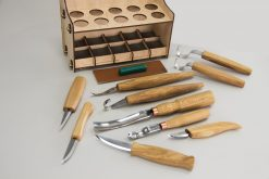 S53 – Universal Woodcarving Set of 10 Tools - thumbnail