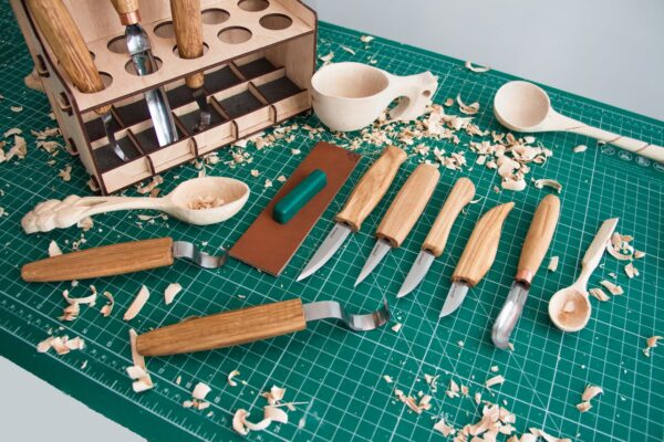 S53 – Universal Woodcarving Set of 10 Tools - 6