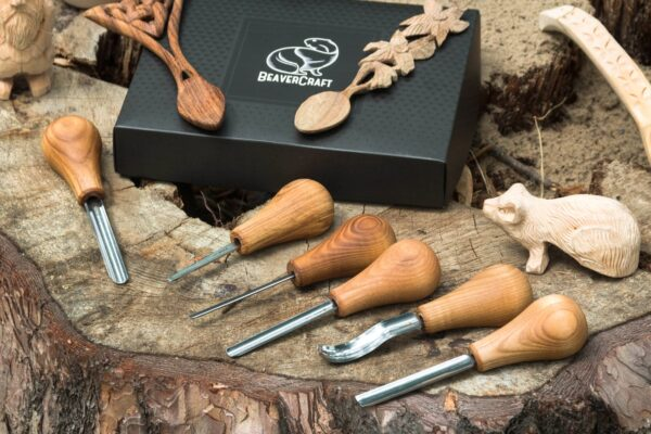SC05 – Woodcarving Set With Palm Chisels - 4