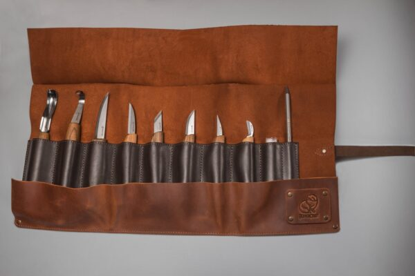 S18X – Deluxe Wood Carving Set With Walnut Handles - 3