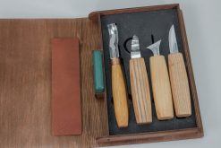 S19 book – Spoon Carving Set of 4 Tools in a Book Case - thumbnail